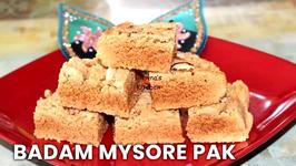 Badam Mysore Pak / Almond Fudge