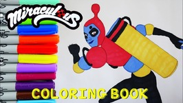 Miraculous Ladybug Coloring Book Pages The Bubbler Kids Art