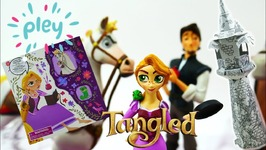 Disney Princess Pley Subscription Toy Box - Disney Rapunzel Tangled Series