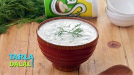 Dill And Cucumber Raita - Suva And Kakdi Raita