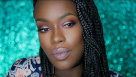 Full Face And Taupe eyes And lips