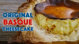 Original Basque (Burnt) Cheesecake Recipe With Homemade Cream Cheese