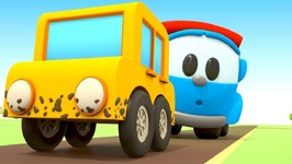 Leo the Truck and the Tow Truck for Kids- Kids Cartoon
