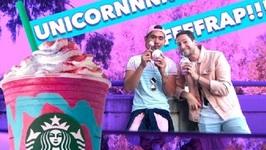 Unicorn Frappuccino Taste Test W/ My Boyfriend!!!
