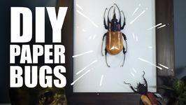 DIY Paper Bugs