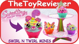 Sweetlings Swirl-n-Twirl Minis Alex DIY Clay Craft Kit HER Unboxing Toy Review