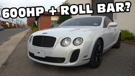 Bentley with Factory Race Seats and Roll Bar for 95,000