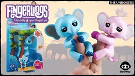 Meet Gray the Fingerlings Baby Elephant