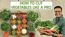 How to Cut Vegetables Like A Pro /  Healthy Winter Vegetables / Carrot / Radish / Spinach / Beetroot