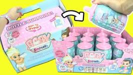 Baby Secrets Bottle Surprise Doll Unboxing FULL BOX! Color Changing Diaper & Potty