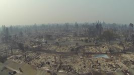 Drone Captures Devastating Impact of Wildfires on Santa Rosa