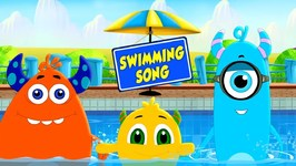 Swimming Song - Momo Beats - Nursery Songs For Children - Kids Cartoons