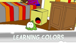 Learning Colors with Om Nom - Strange Delivery