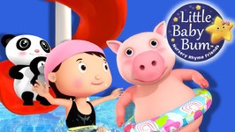 Swimming Song Part 2 - Nursery Rhymes for Babies - Songs for Kids