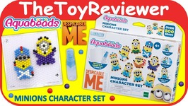Aquabeads Minions Character Set Beados Despical Me 3 Unboxing Toy Review