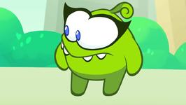 Learn English with Om Nom - Om Nelle Teaches Om Nom to Eat Healthy