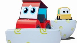 Learn Colors With Surprise Eggs And Cartoon Car Vehicles In This 3D Video