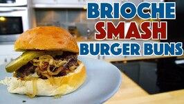 Smash Burger Brioche Buns