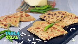 Chilli Cheese Paratha-Veg Breakfast