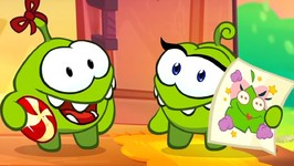 Om Nom's Video Blog - Scrapbooking - Funny Cartoons For Babies by Kids Channel