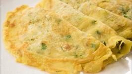 Eggless Omelette - Indian Street Style - No Egg - Vegan Omelettes