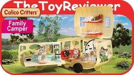 Calico Critters Caravan Family Camper Cherry Cruiser Seven Seater Unboxing