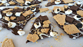 Dessert - S'mores Chocolate Bark