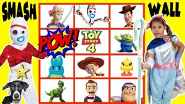 Toy Story 4 GIANT SMASH SURPRISE TOYS WALL w/ Toy Story 4 Movie Toys