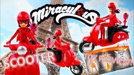 New Season 2 Miraculous Ladybug Toy - Zoomin Ladybug Scooter And Tikki