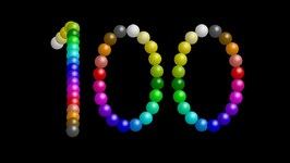 Color Ball Counting 1 - 100