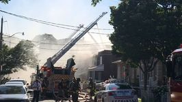 Several Homes Burn in Toronto Neighborhood