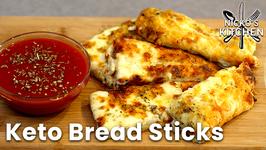 Keto Bread Sticks / Extra Cheesy / Must Have Keto Recipe