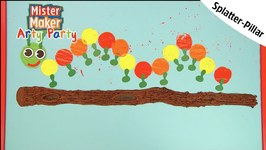 Splatter- Pillar Arty Challenge - Arty Party - Mister Maker