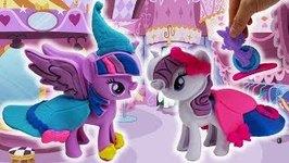 My Little Pony Playdoh set Princess Twilight Sparkle & Rarity Fashion Fun