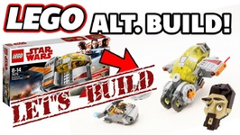 Lets Build The Lego Star Wars Resistance Transport Pod Alternate Build