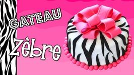 Gâteau Zèbre - Zebra Cake - Cake Design