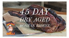 How To Dry Age Beef - 45 Day Aged Bone In Ribeye - Umai Steak Bags