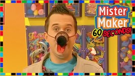 Paper Dog Nose - How To Make In 60 Seconds - Mister Maker