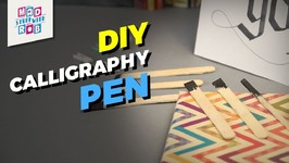 How To Make A Simple Calligraphy Pen