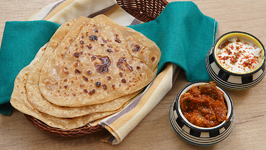 Plain Paratha Recipe - Homemade Paratha Recipe - Paratha Recipe Indian - How To Make Paratha - Ruchi