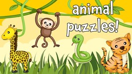 Wild Animals - An Animal Puzzle Game for Preschoolers and Toddlers