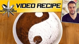 How To Make Chocolate Yin Yang Cake