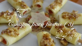 Canapes Para Fiestas 3 / Palitos De Queso Y Membrillo / Canapes Faciles Y Baratos, Faciles Y Rapidos