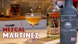 Mezcal Martinez Cocktail