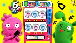 Ugly Dolls Play Candy Machine Game 5 Surprise Mini Brands Surprise