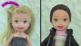 Barbie Doll Makeovers Kelly and Chelsea Dolls