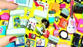 100 Miniature Electronic & Kitchen Doll Stuff Collection