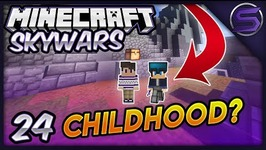 Tiny Children Play Skywars- Minecraft- Skywars - Ep- 24