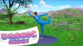 Mr Hoppit the Hare - A Cosmic Kids Yoga Adventure