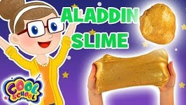 Aladdin Gold Slime - Crafty Carol Slime - Slime Crafts for Kids